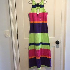 Polo By Ralph Lauren Girls Maxi Dress